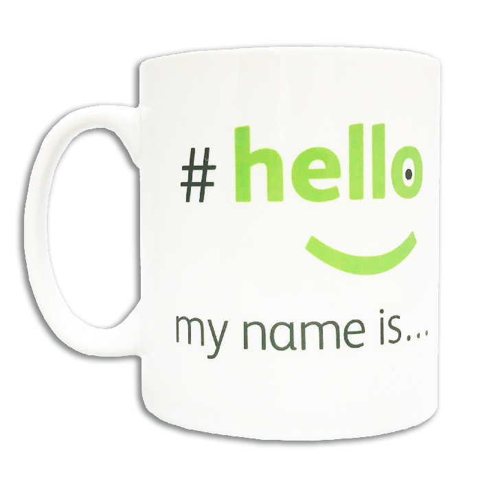 hello my name is cups