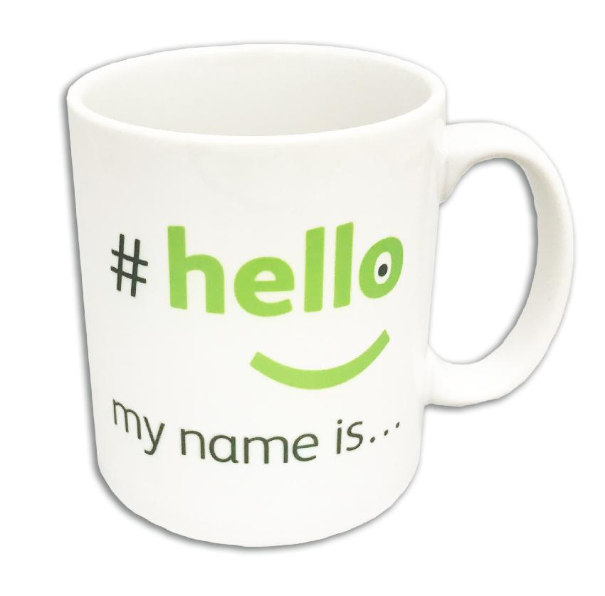 mugs hello my name is