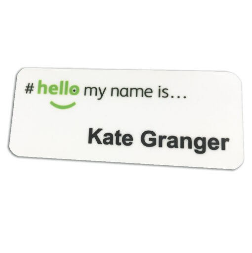 nhs magnetic name badge
