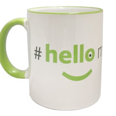 premium hello my name is mug
