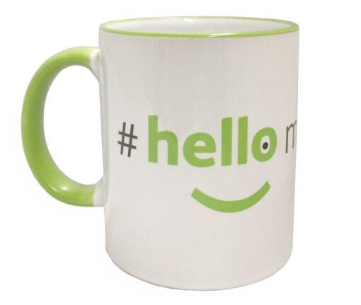 premium hello my name is mug