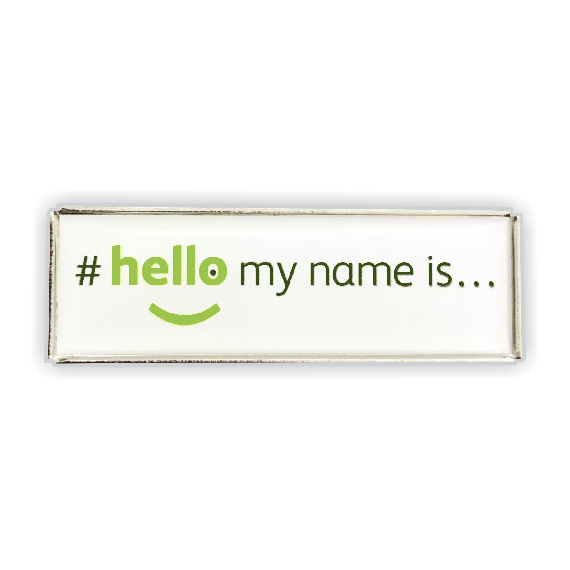 lapel badge hello my name is