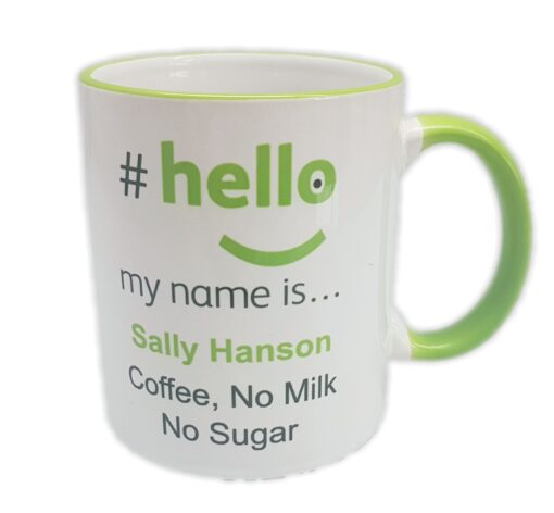 official hello my name is mug