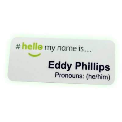 Pronoun NHS Name Badges